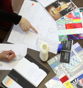 Bottle designer image