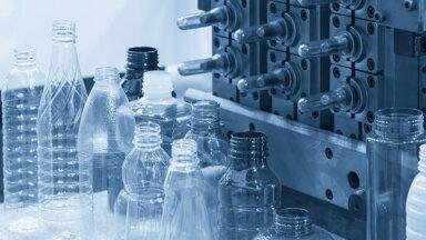 Plastic bottles & pre-shape parts image